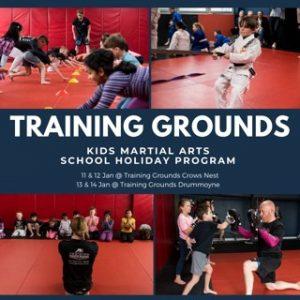 Kids Martial Arts School Holidays Sydney